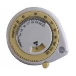 Omfangsmåler m. BMI-hjul