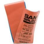 SAM Splint, orange/blue, 11 x 91 cm