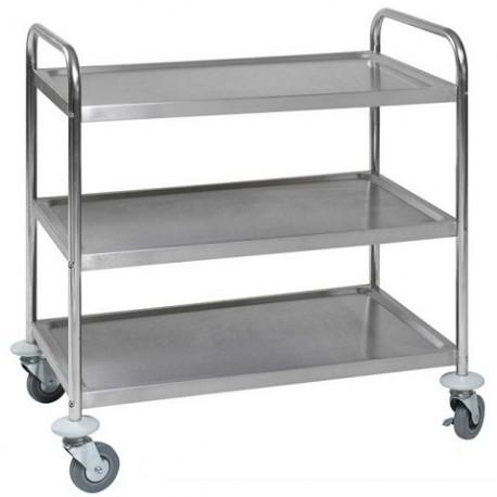 Rullbord rostfritt stål