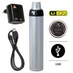 Heine Beta 4 USB med laddarkabel, 3,5V Li-ion.