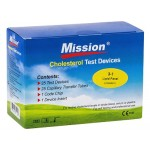 Mission Kolesterol Test Strips - 3-1Lipid Panel, 25st.