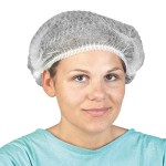 Operation hat, green, comfort, 100pcs. One Size.