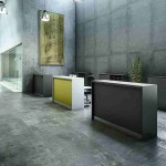 Receptionsskranke, stilren og robust