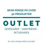 OUTLET - brugt / demovarer